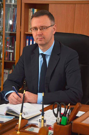 Rector of the University Sergey A. Khakhomov